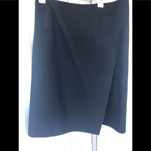 DKNY Black Career wear Wrap Skirt